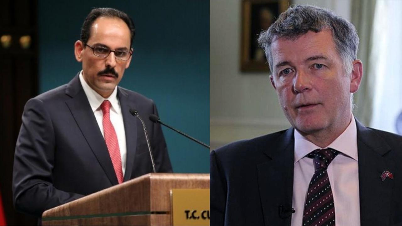 Turkish presidential spokesperson meets with MI6 spy chief in Ankara