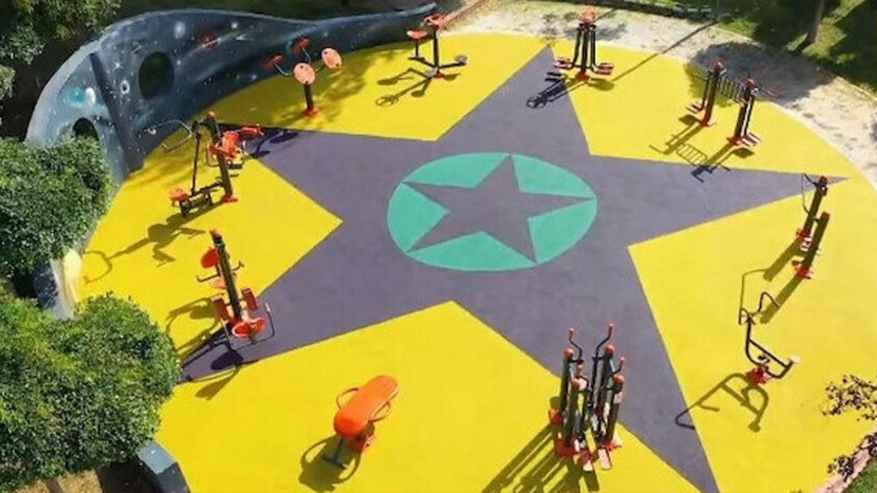 Istanbul deputy mayor sacked over playpen tiles 'resembling PKK flag'