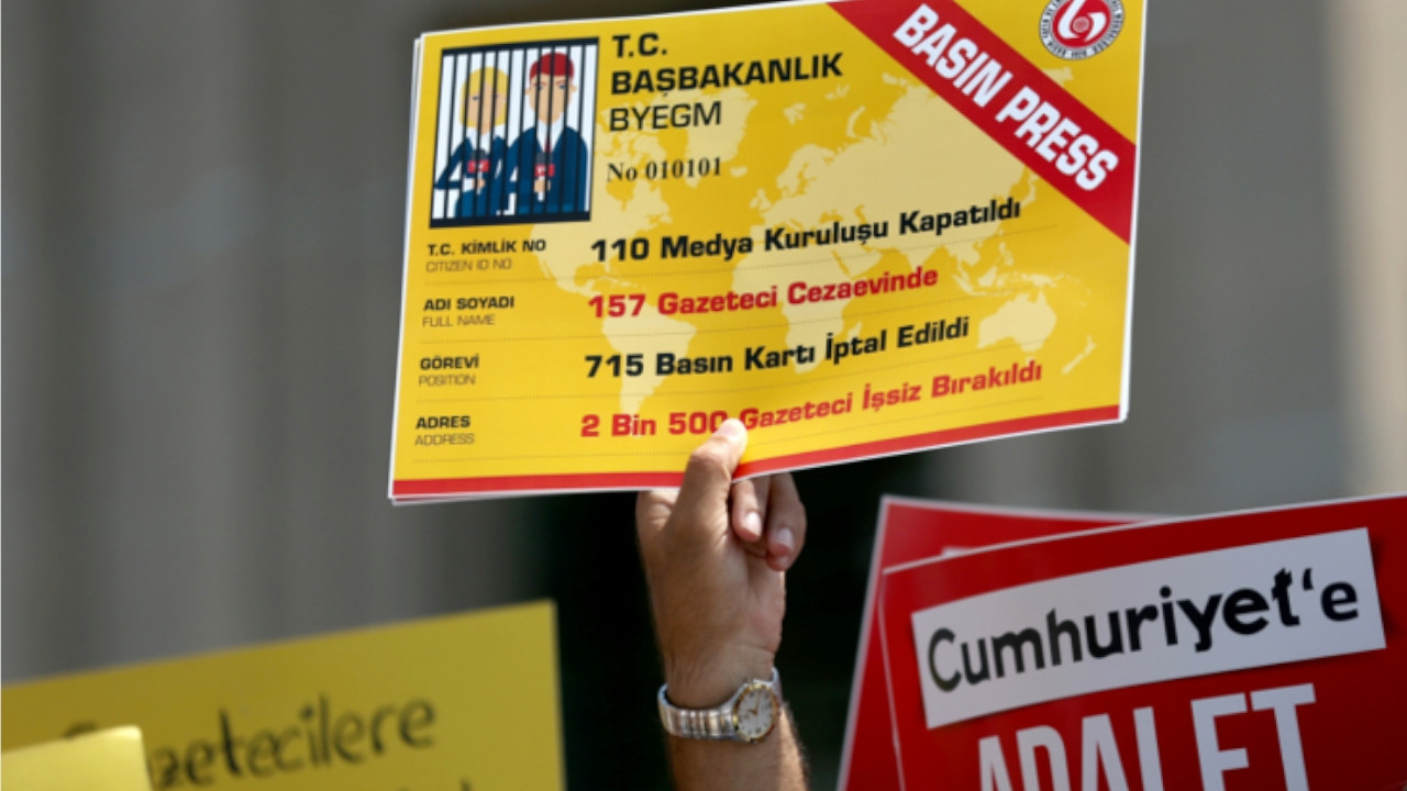 Turkish journalists' unions slam gov't for restricting early retirement right to only press card holders