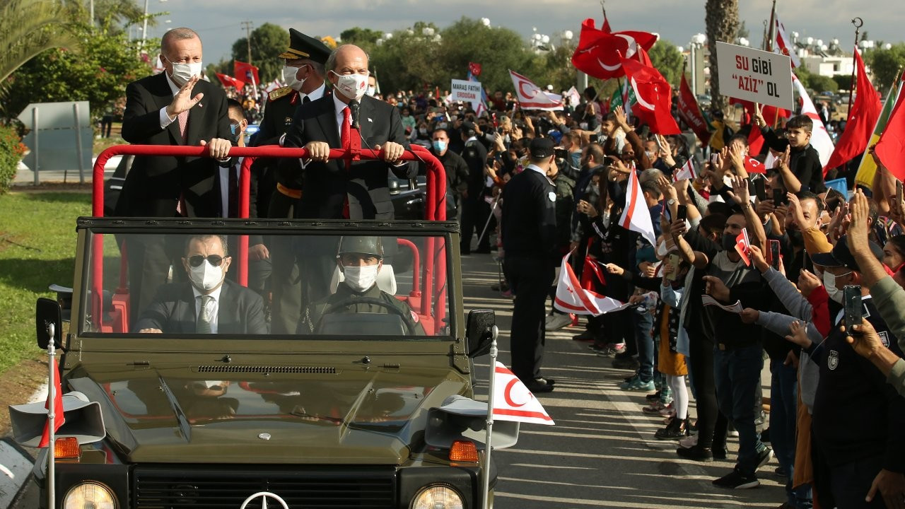 Erdoğan visits Turkish Cyprus, calls for two-state solution