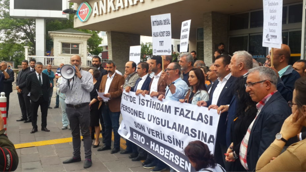 State-run news channel TRT fires experienced staff in what union calls an 'exile'