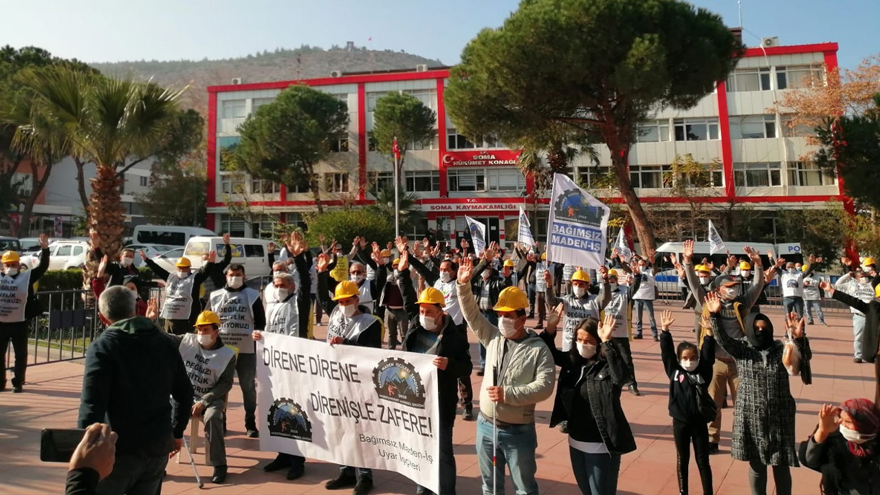 Turkish miners end protest march upon reassurance of resolution from Interior Minister Soylu