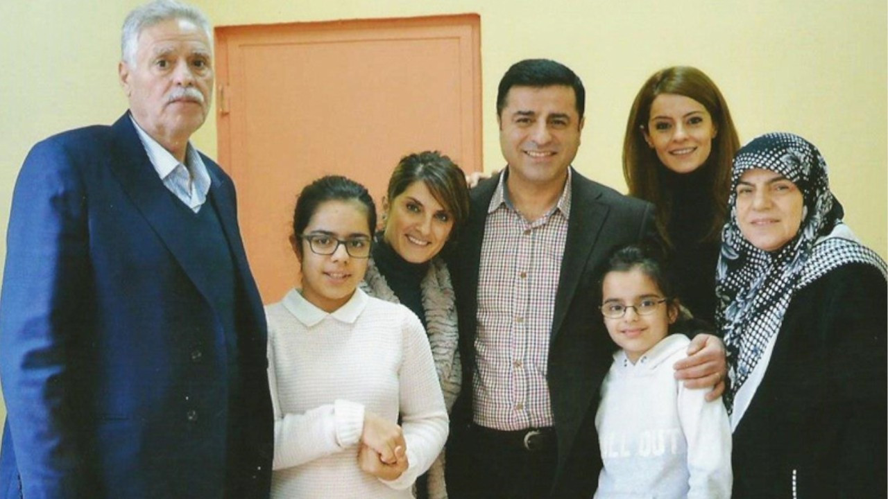 Jailed politician Demirtaş' wife and family victims of decades-long state suppression of Kurds