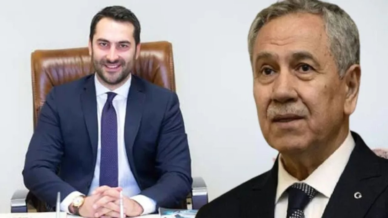 Bülent Arınç's son takes Erdoğan's side in rift between his father and president, says 'there is only one chief'