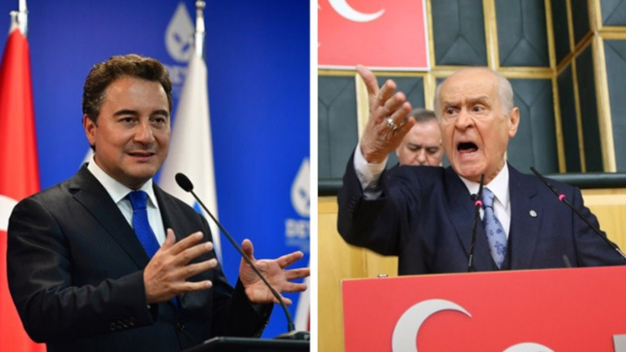 Babacan to media watchdog: Bring in R18+ rating for Bahçeli's speeches