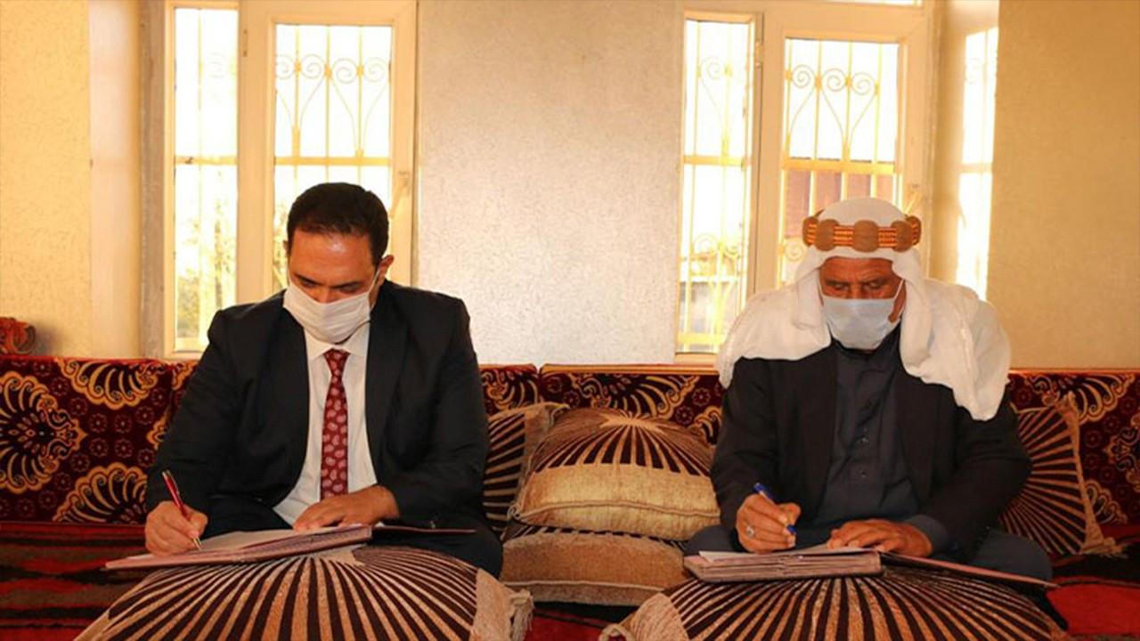 Southeast Turkey family directorate signs deal with tribe leaders to stop underage marriages