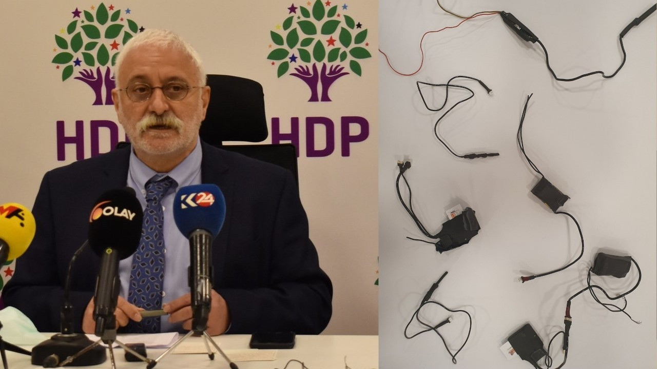 Bugging devices found in HDP's Istanbul provincial office
