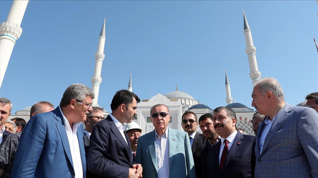 Transportation Ministry to build railway to mosque favored by Erdoğan