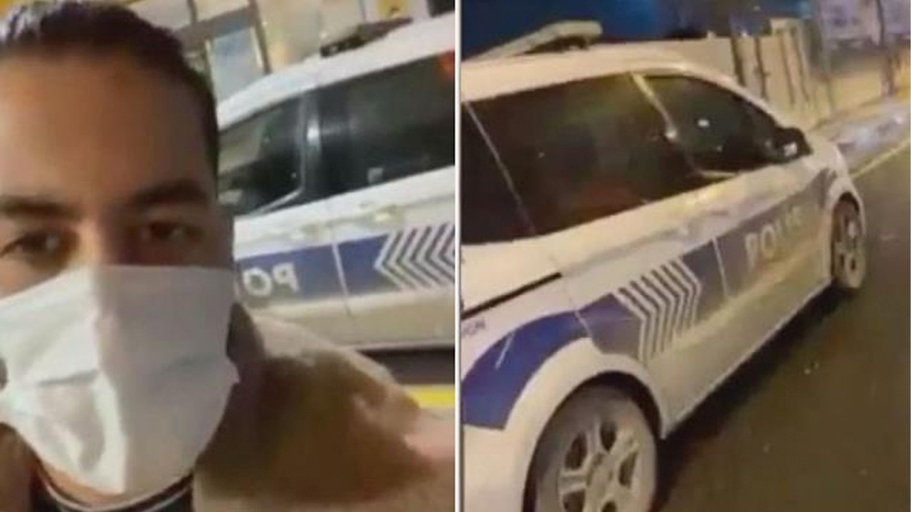 Policeman suspended for letting Iranian YouTuber Milad Hatami drive police car in Istanbul