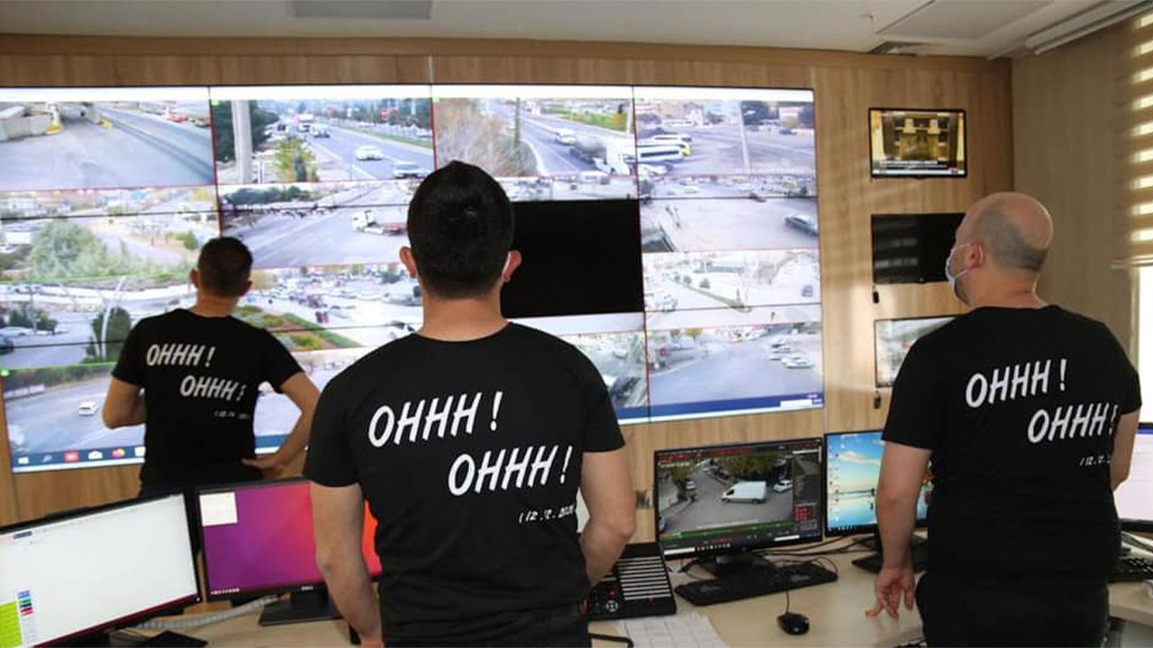 Turkish police wear shirts referencing Soylu's 'take that PKK' quote in southeast Turkey