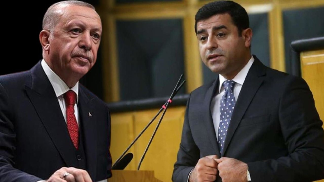 Erdoğan says ECHR's ruling for Selahattin Demirtaş's immediate release isn't binding for Turkey