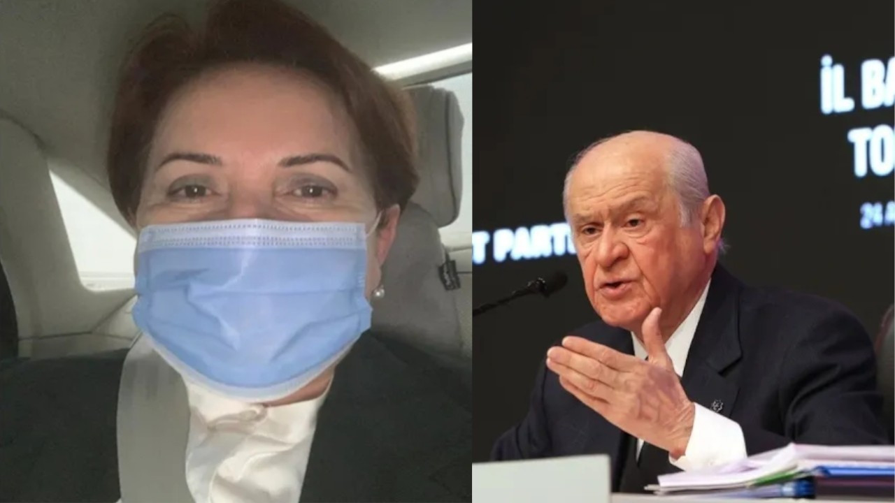 Akşener mocks Bahçeli's call for her 'to return home' with photo of herself on way back to actual house