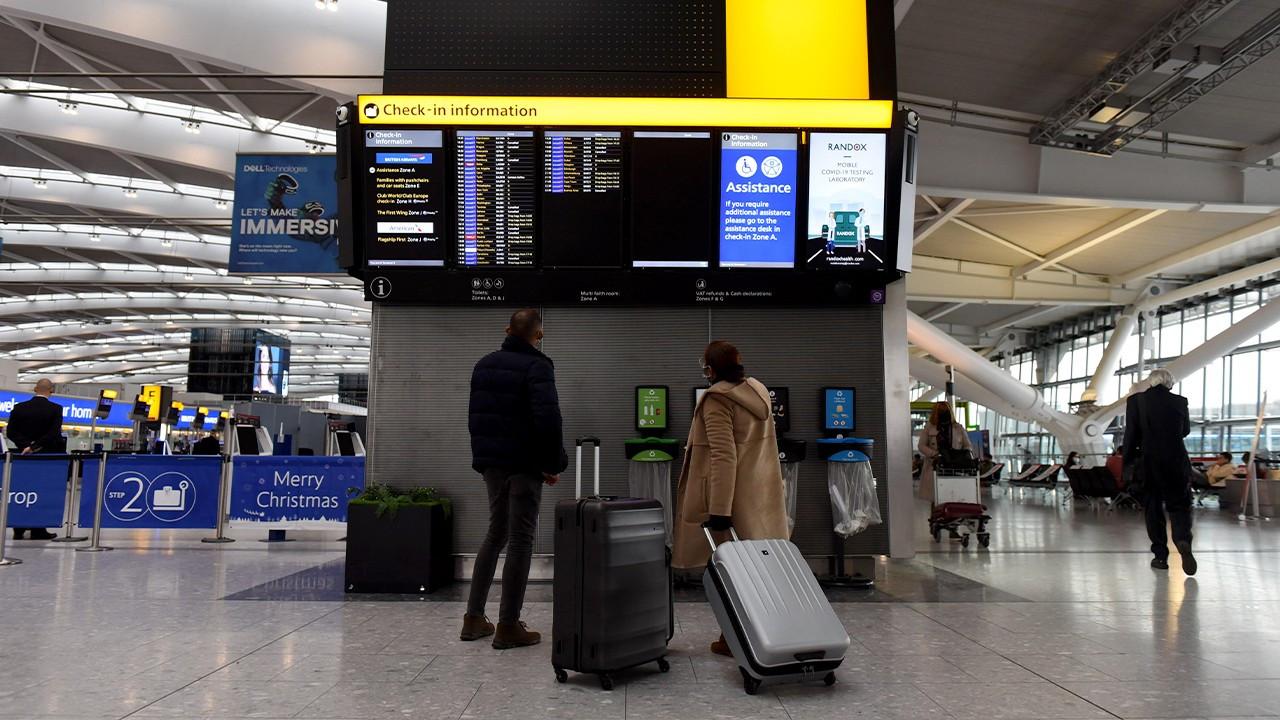 Turkey to test, isolate passengers evacuated from Britain, Denmark amid virus mutation concerns