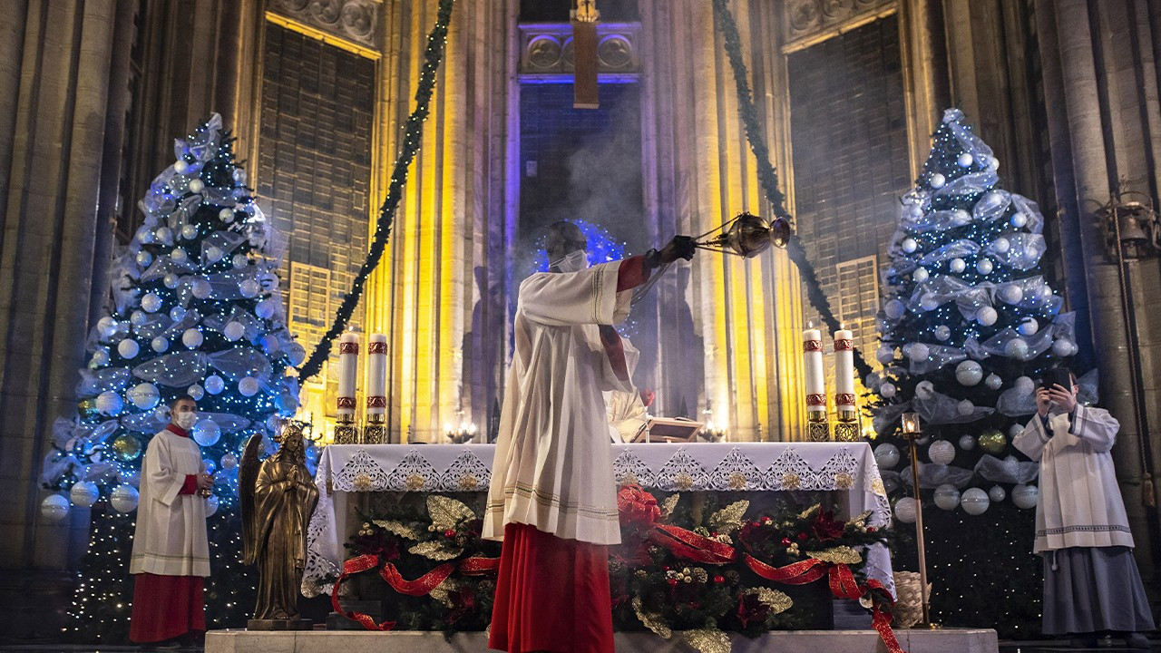 Turkey's Christian community marks Christmas Eve amid pandemic