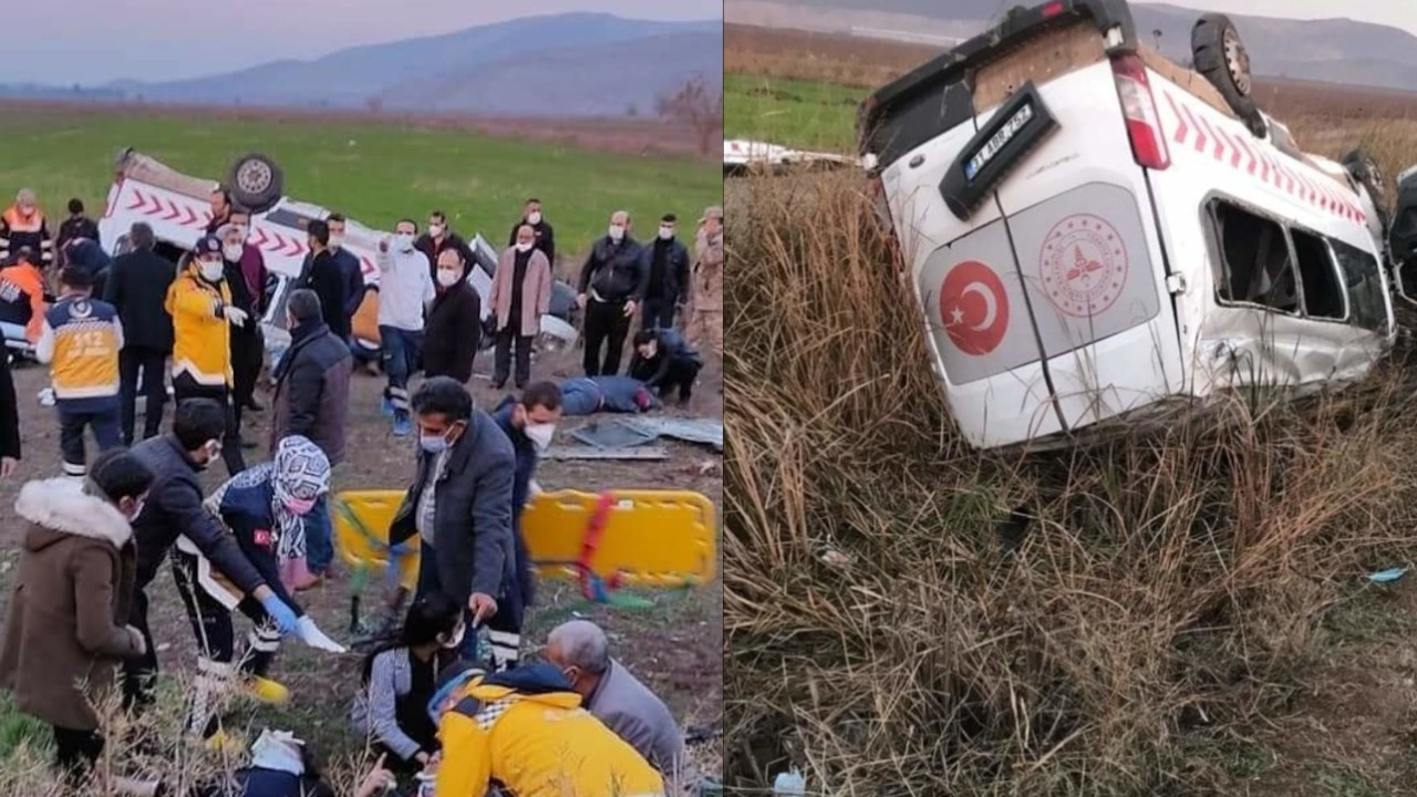 Turkish health worker killed, seven others injured in minibus accident on return from Syria's Afrin