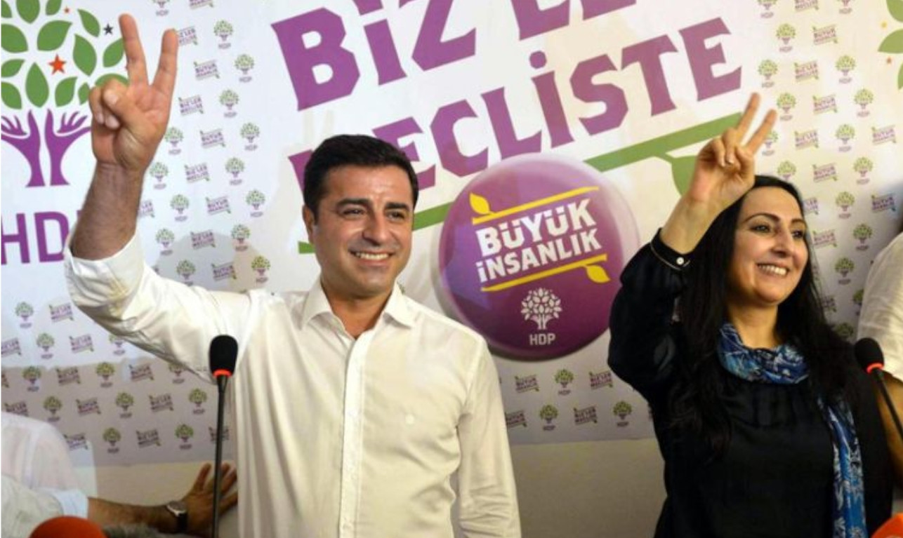 Turkish prosecutors file indictment against 108 people, including Demirtaş and Yüksekdağ, over Kobane protests
