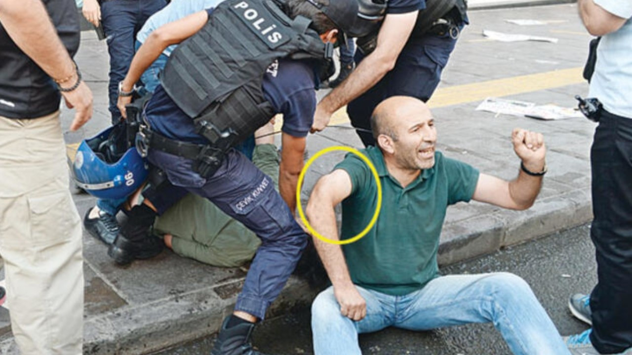 Policeman gets deferred 20-month sentence for breaking protestor's arm