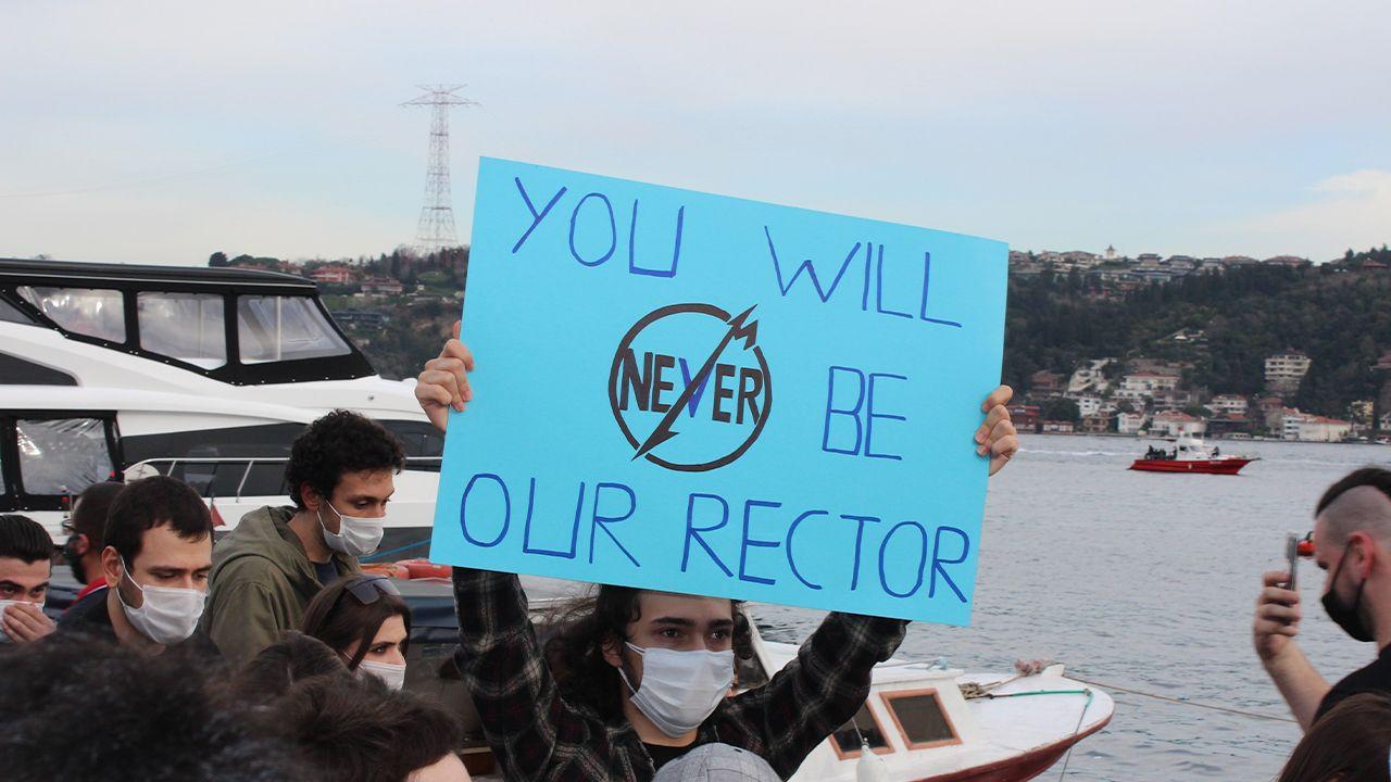 Boğaziçi students 'will not let Erdoğan's appointed rector through' - Page 2