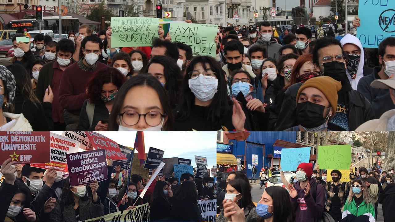Boğaziçi students 'will not let Erdoğan's appointed rector through'