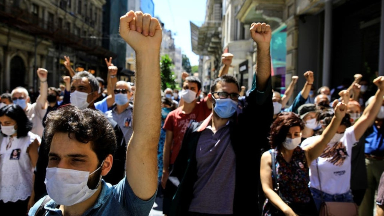 'Turkish gov't used pandemic as pretext to enforce authoritarianism'