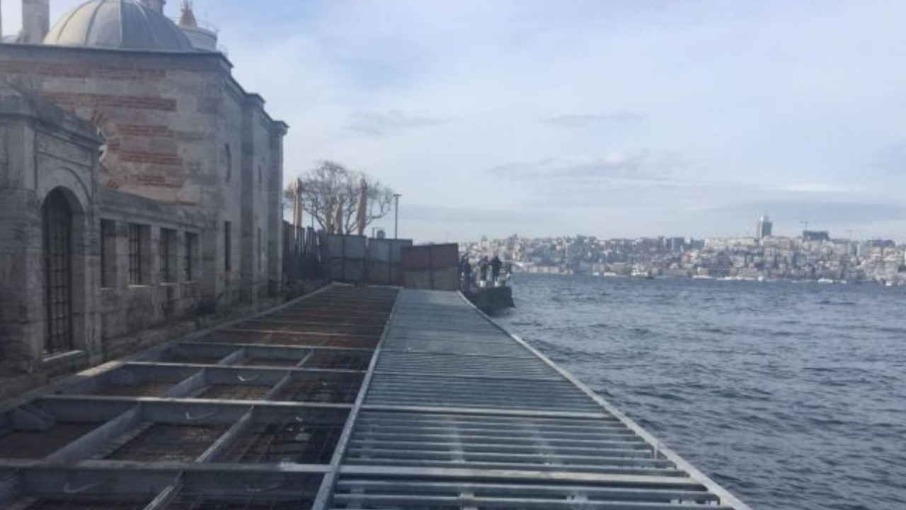 Video emerges showing Üsküdar mayor defending mosque-damaging project