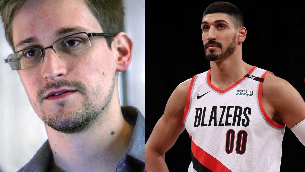 Edward Snowden praises Gülenist NBA player Enes Kanter