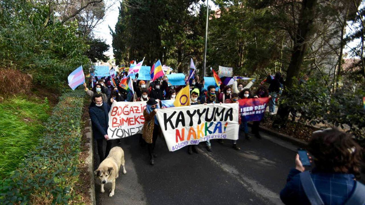 Boğaziçi University students hold Pride March on third week of protests against Erdoğan's rector - Page 2