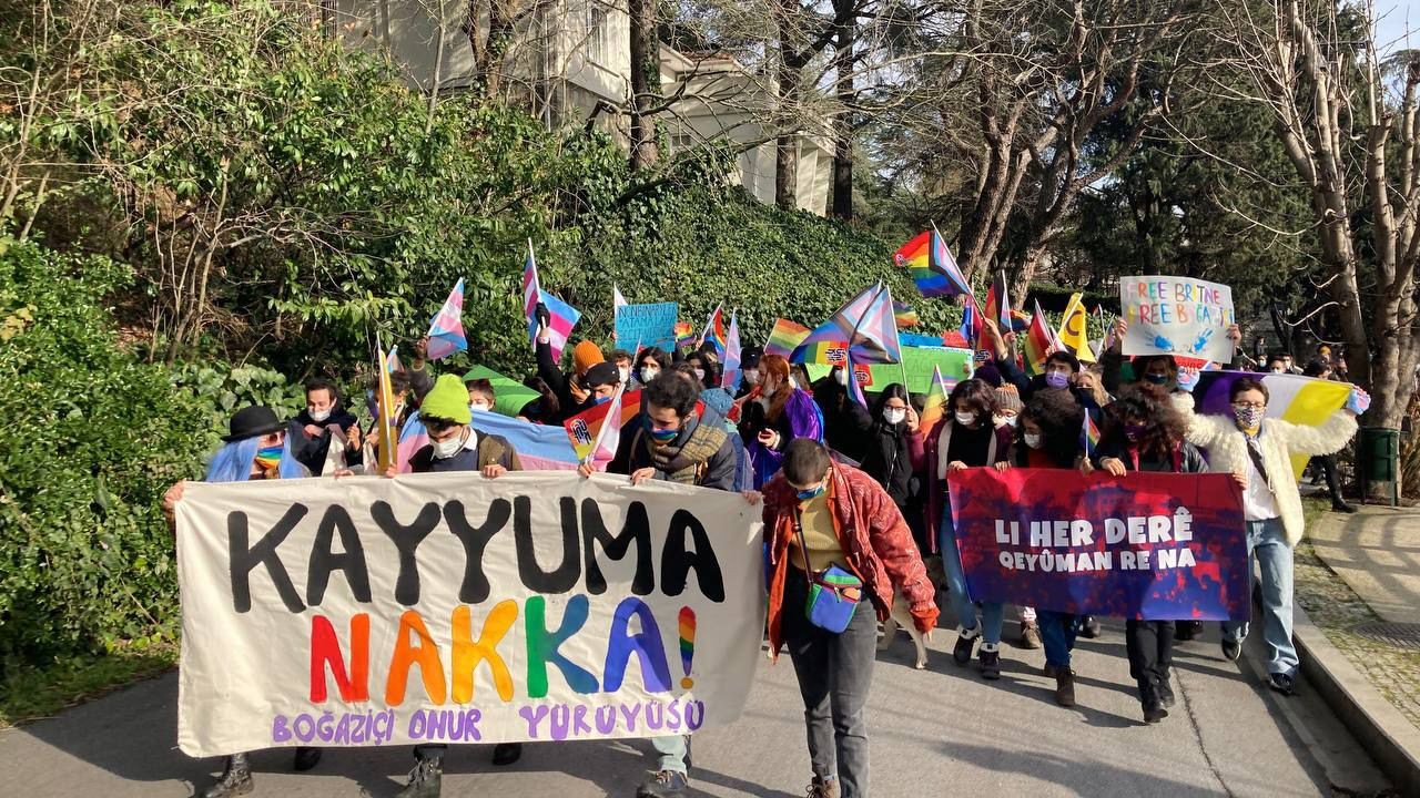 Boğaziçi University students hold Pride March on third week of protests against Erdoğan's rector - Page 3