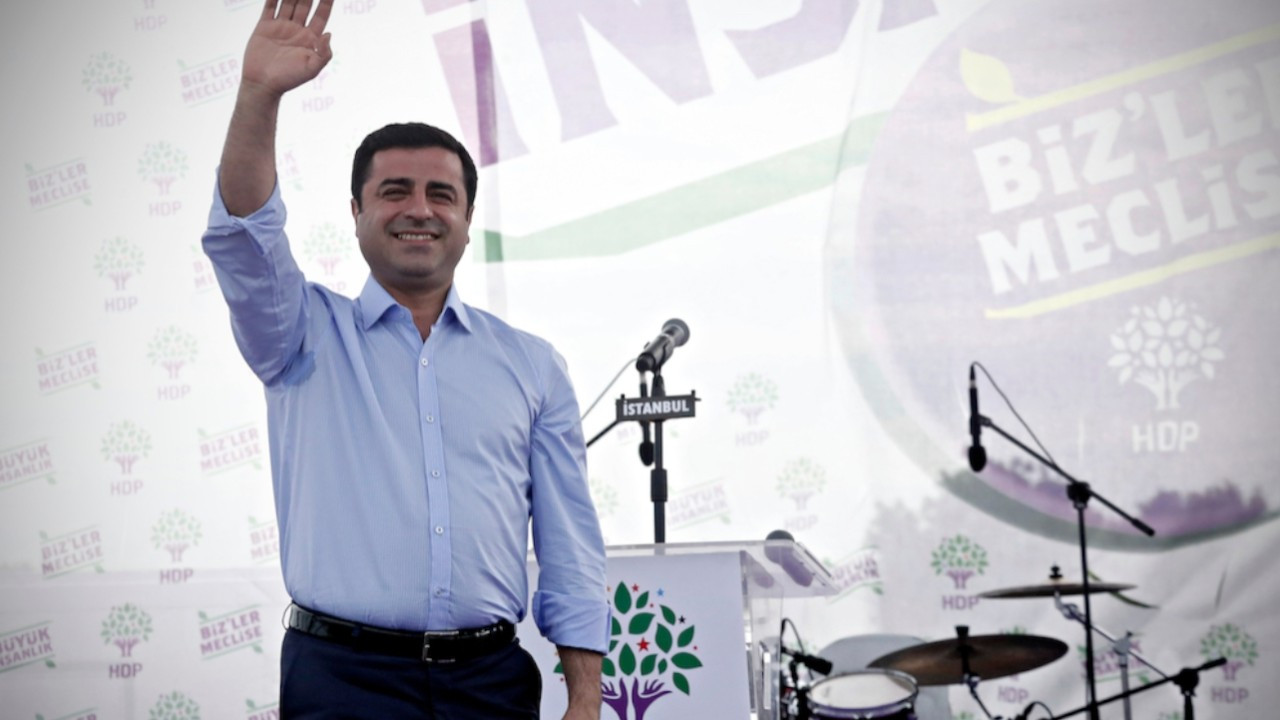 European Parliament calls for immediate release of Kurdish politician Selahattin Demirtaş
