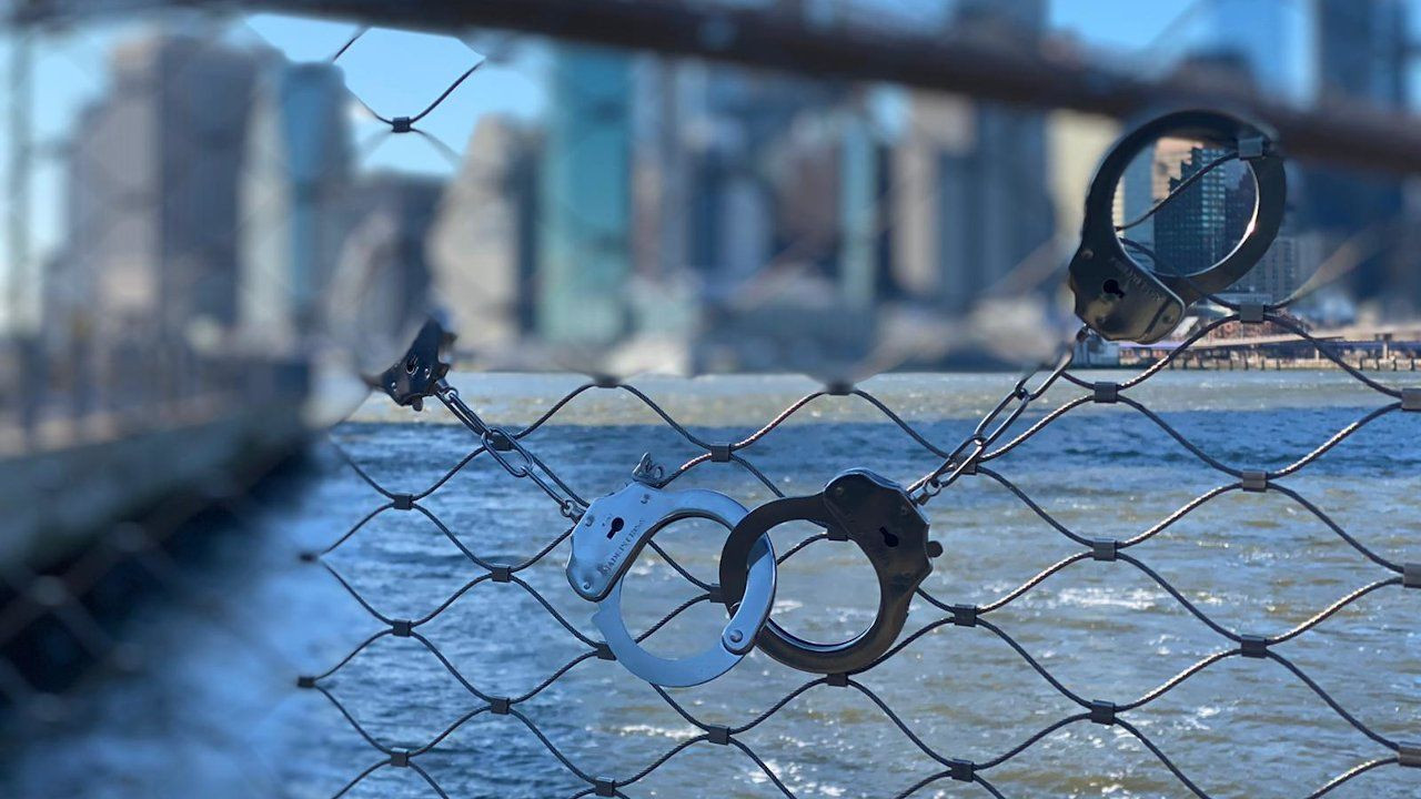 Boğaziçi University graduates handcuff Brooklyn Bridge to protest Erdoğan-appointed rector - Page 1
