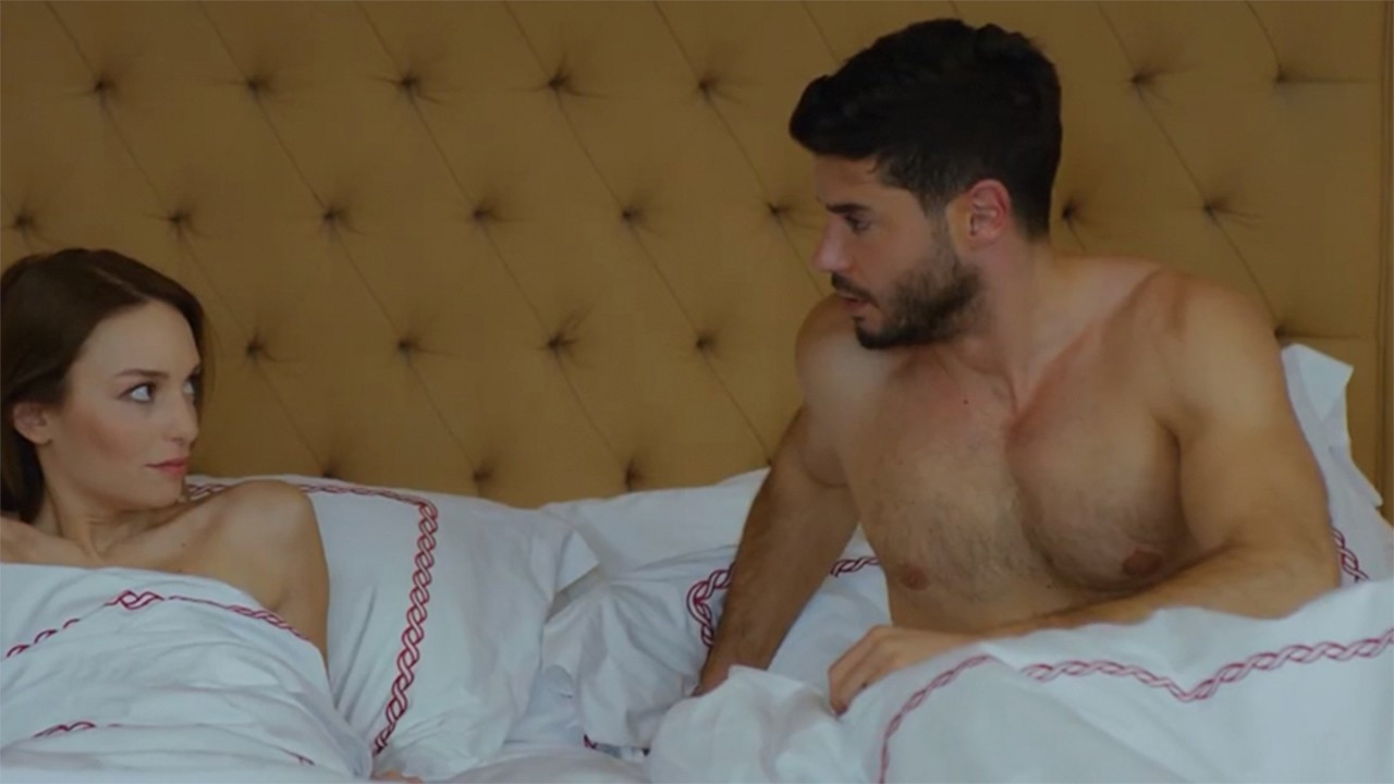 Viewers complain about TV scene depicting man, woman in bed topless
