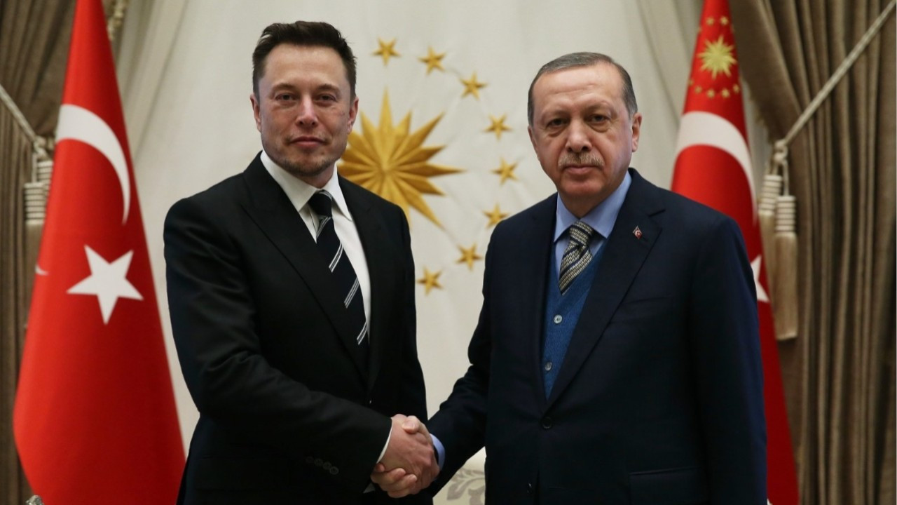 Erdoğan and Elon Musk discuss space technology cooperation over phone