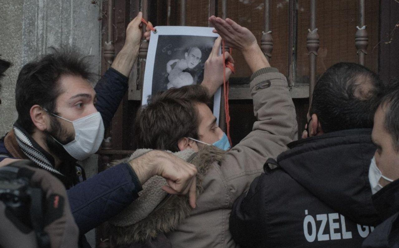 Boğaziçi University security staff break students' 'resistance tent' during intervention - Page 2