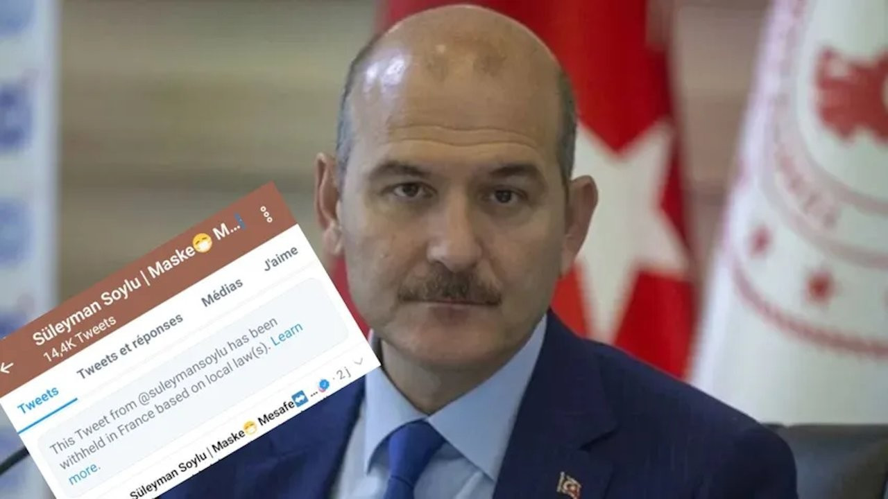 Access to Soylu's tweet targeting LGBT individuals banned in France