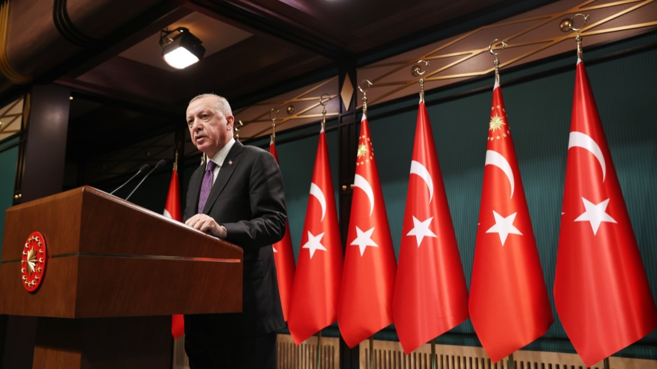 President Erdoğan calls for drafting new constitution