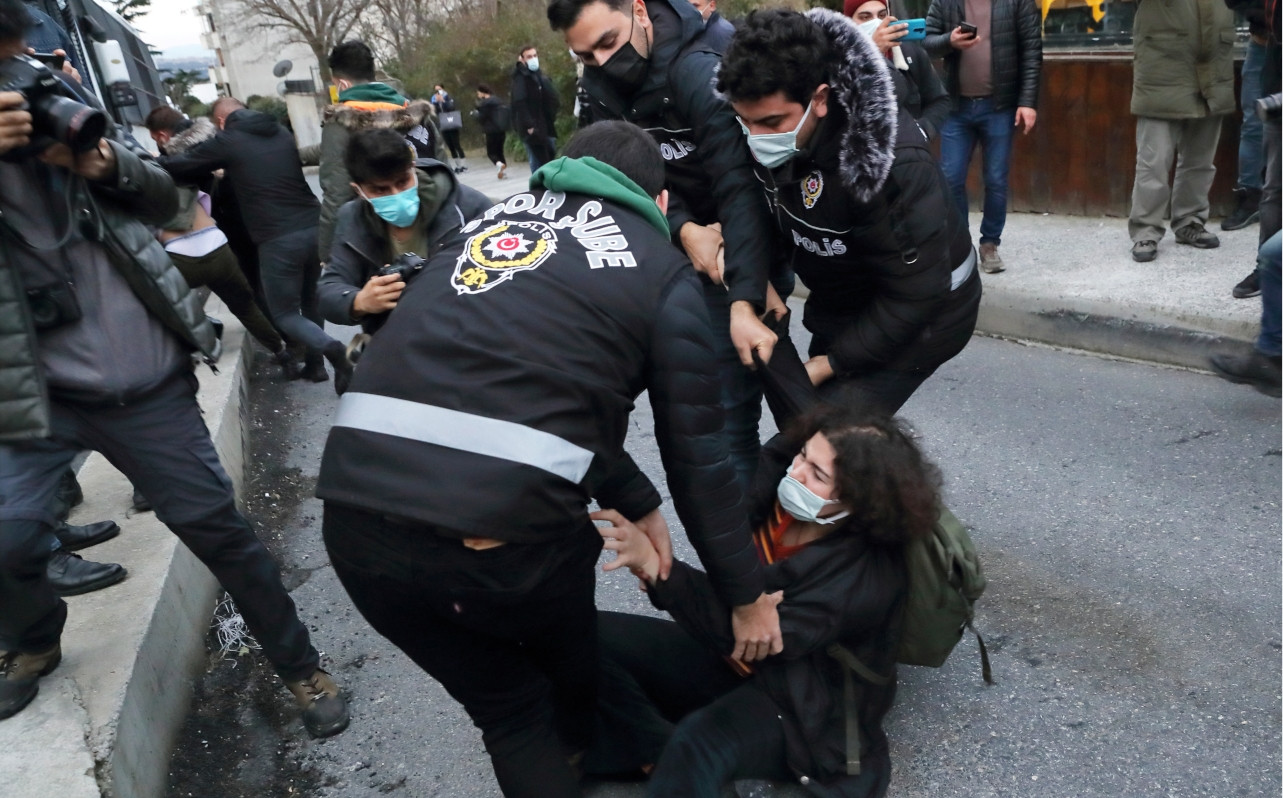 159 Boğaziçi students detained for protesting Erdoğan-appointed rector