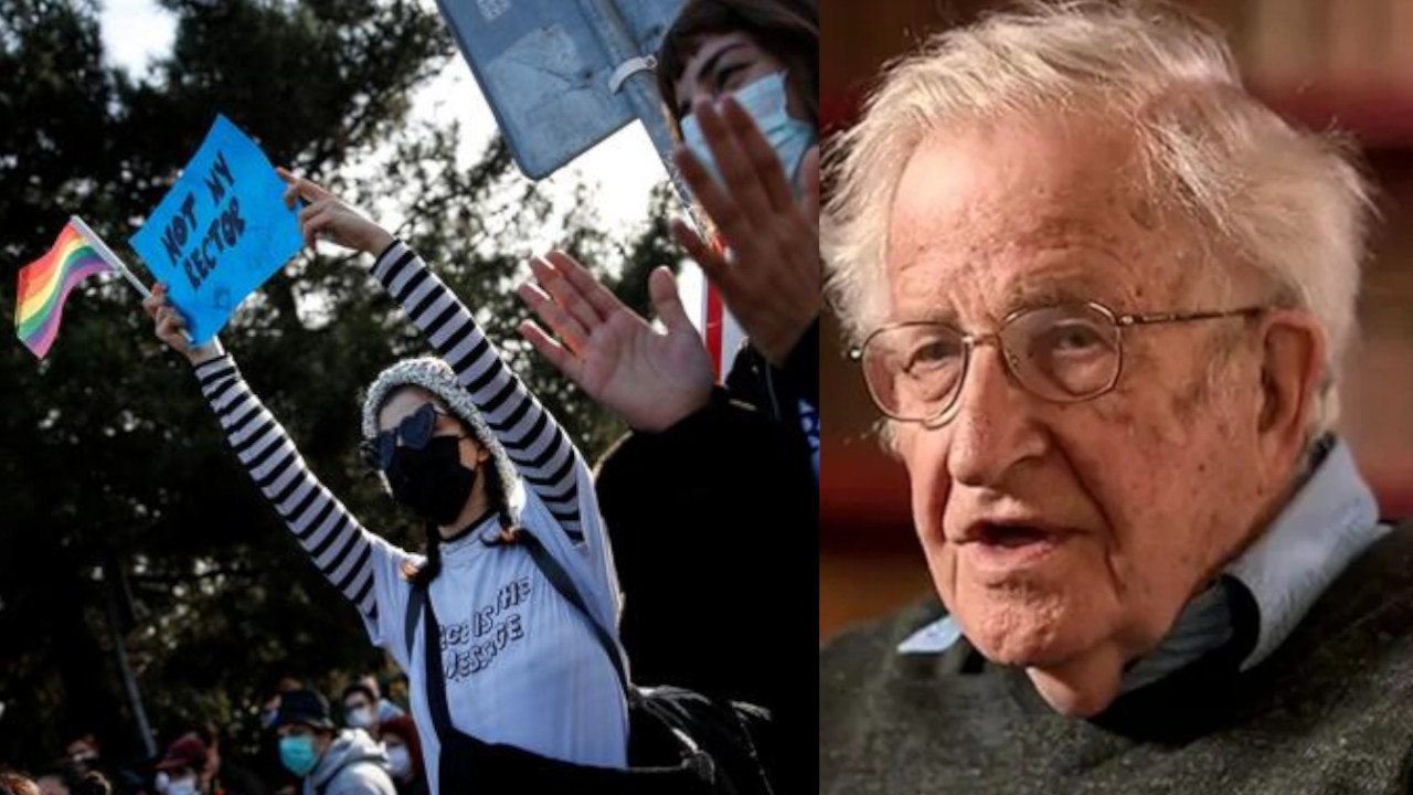 Noam Chomsky refers to Boğaziçi University students' resistance as 'courageous and honorable'