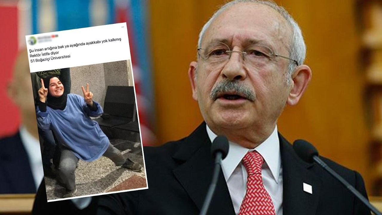Detained Boğaziçi University student's shoe size is higher than IQs of gov't officials: CHP head