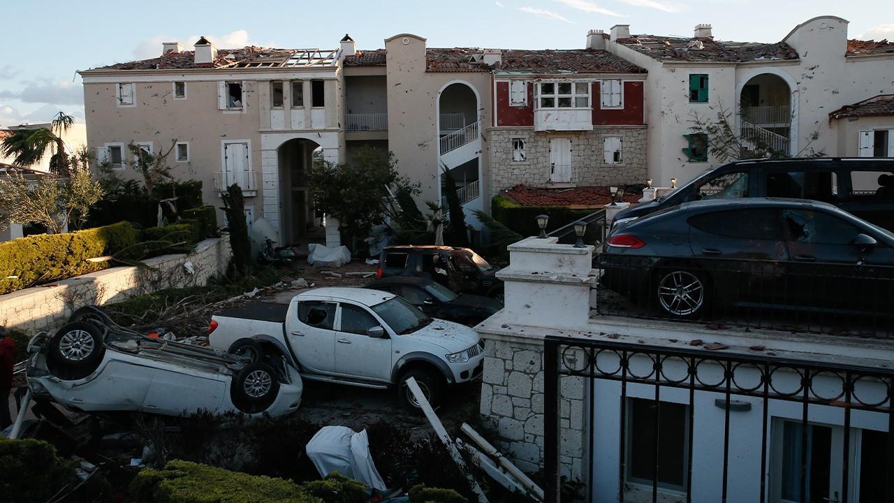 Aegean İzmir devastated by tornado, hail storm