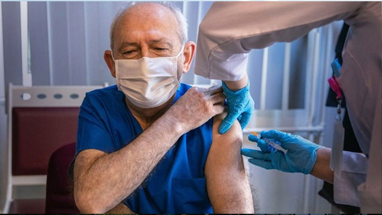 Main opposition head 'gets his turn,' receives COVID-19 vaccine