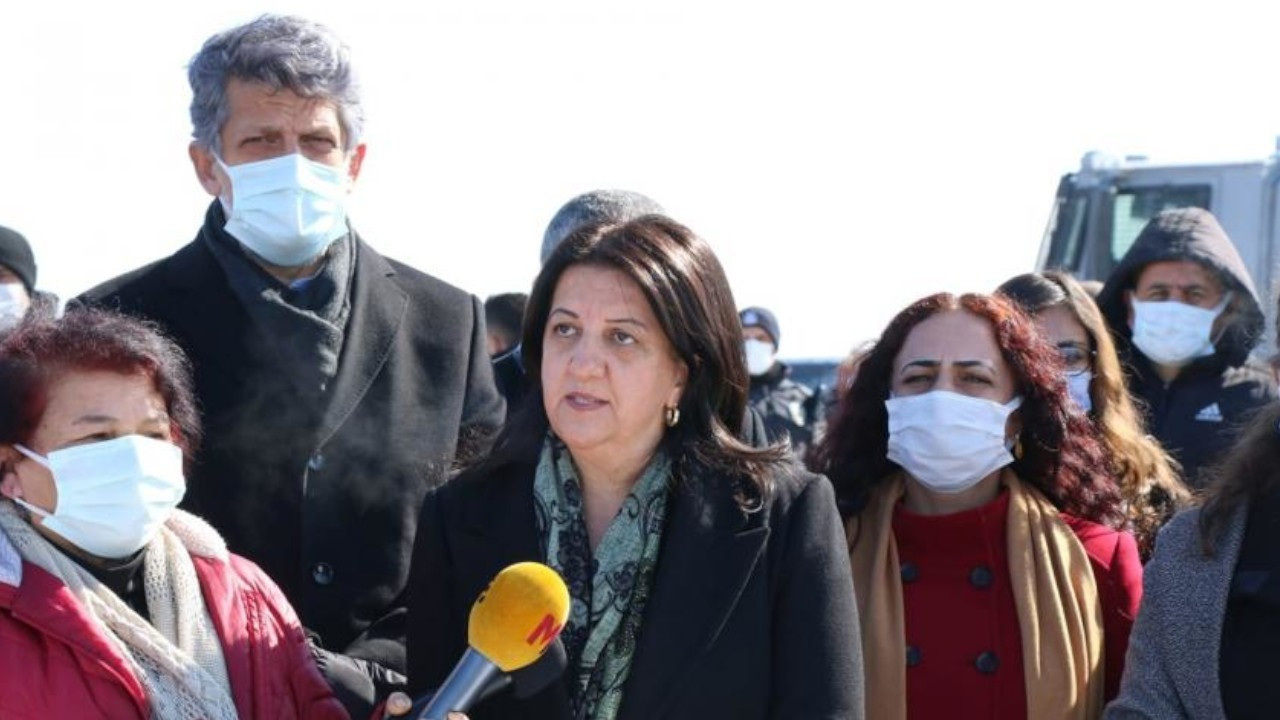 Turkish police bar HDP co-chair Pervin Buldan from holding press conference in Van