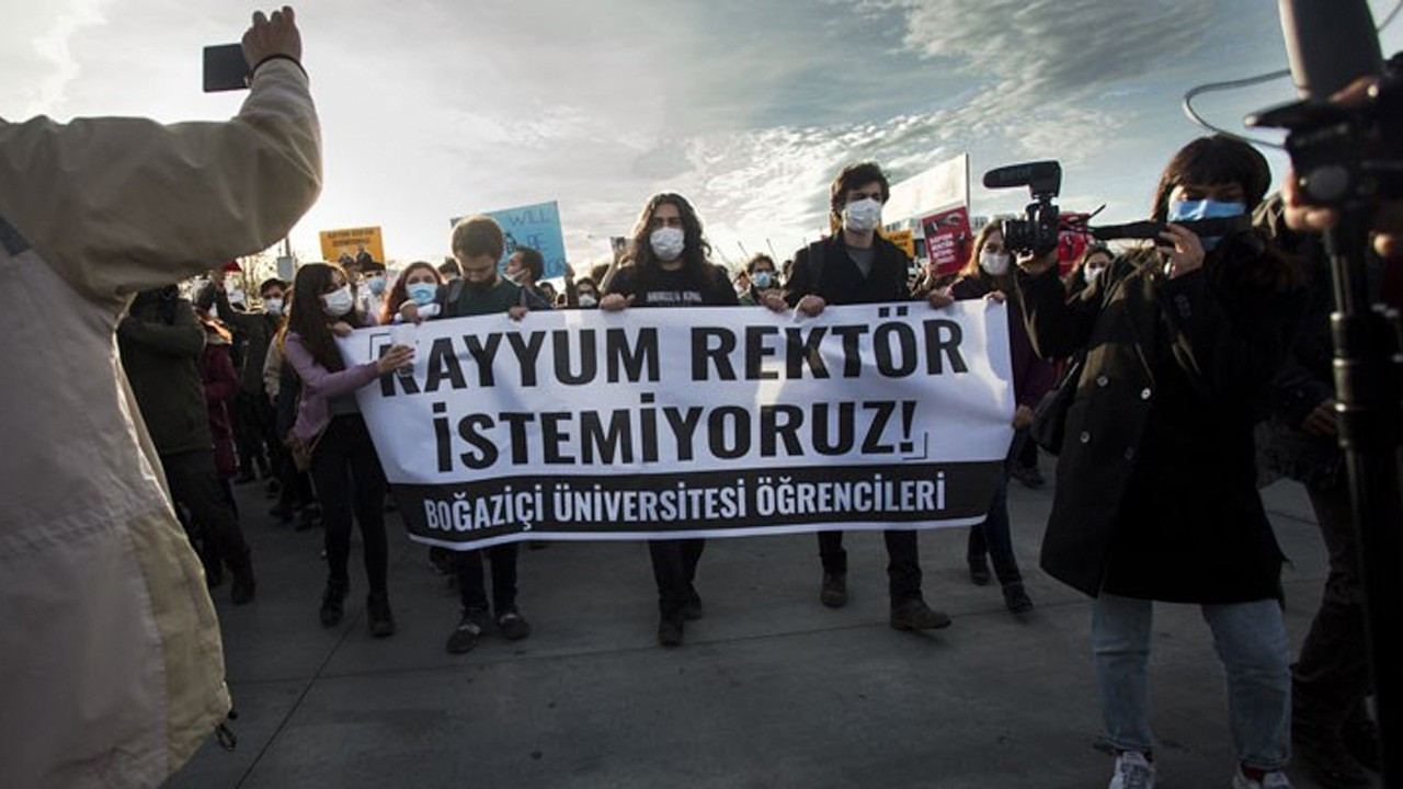 'The right to speak out can't be suppressed in Boğaziçi, or elsewhere'