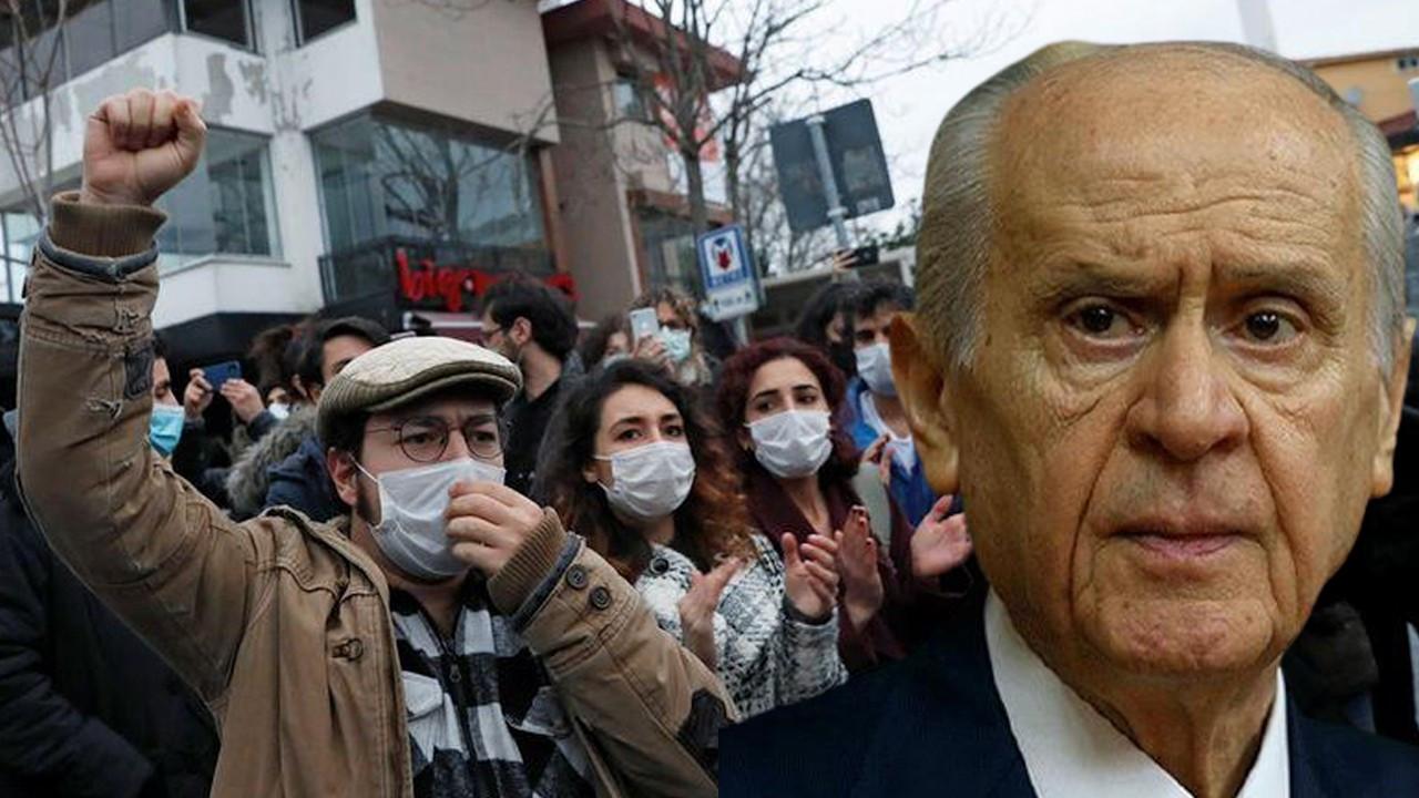 Boğaziçi students respond to Bahçeli: Stop calling us terrorists