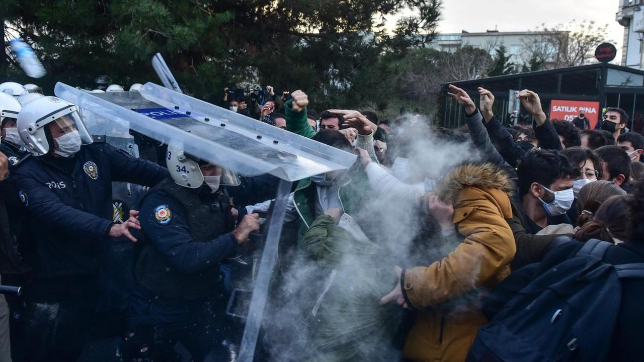 'Rights violations during Boğaziçi University protests emblematic of gov't style'