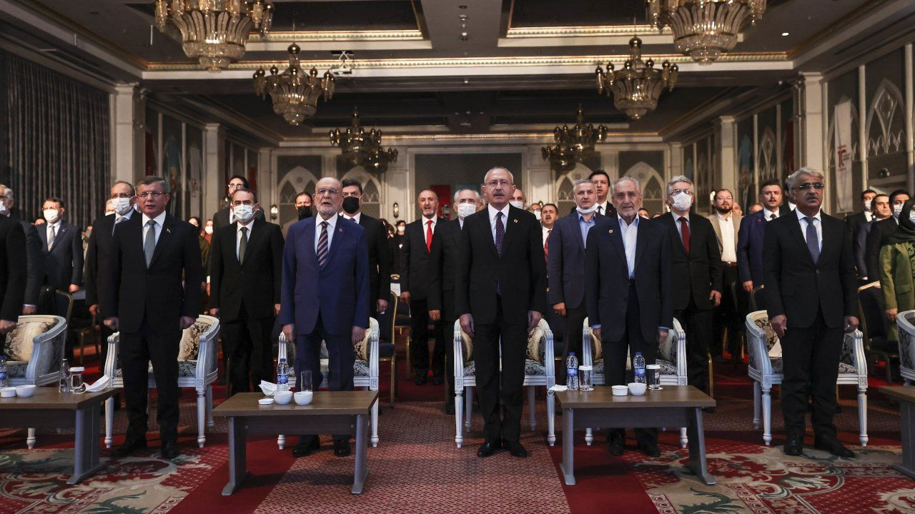 In rare occurrence, party leaders unite in commemorating former Islamist PM Erbakan - Page 1