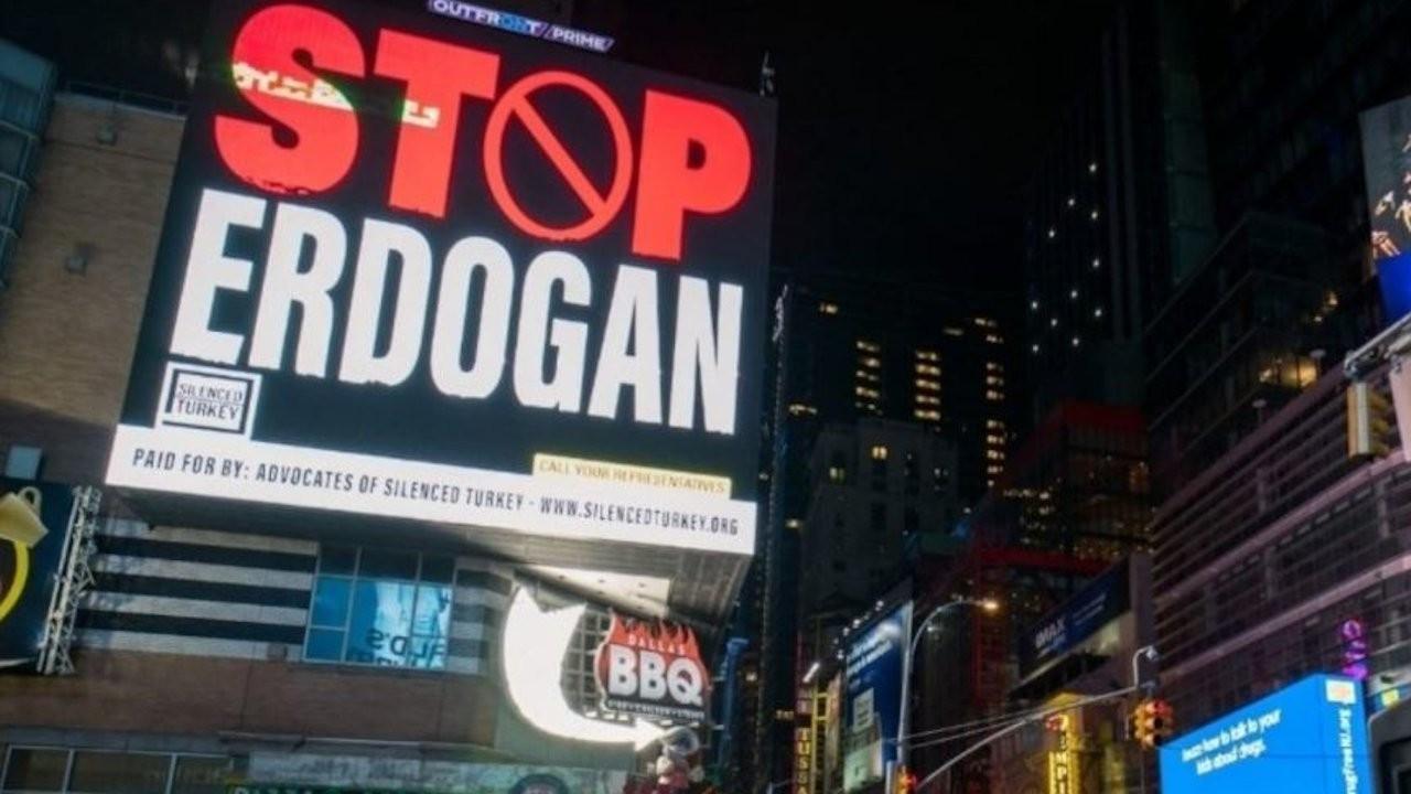 Turkey slams Gülenists over 'Stop Erdoğan' ad on Times Square