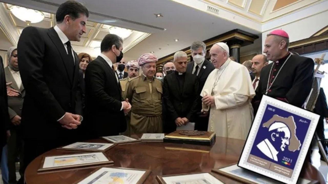 Turkey slams Iraqi Kurdistan over stamp marking Pope's visit