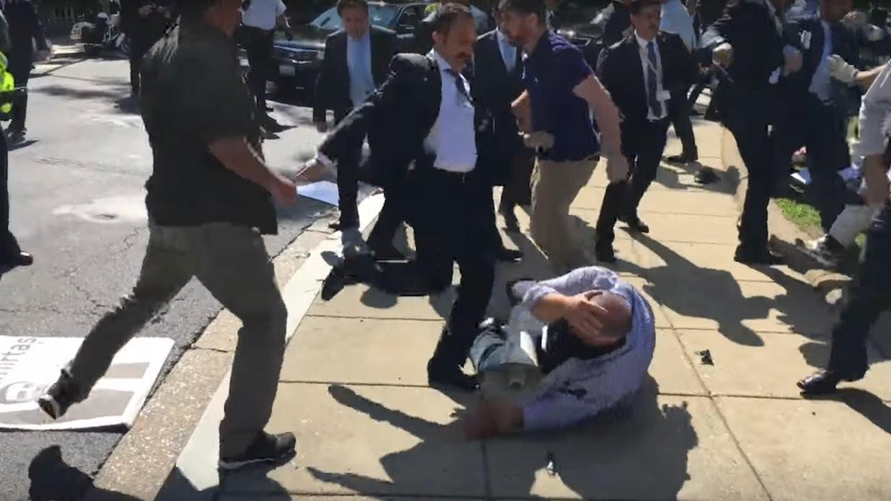 Biden administration tells court Turkey not immune for assaults during White House visit