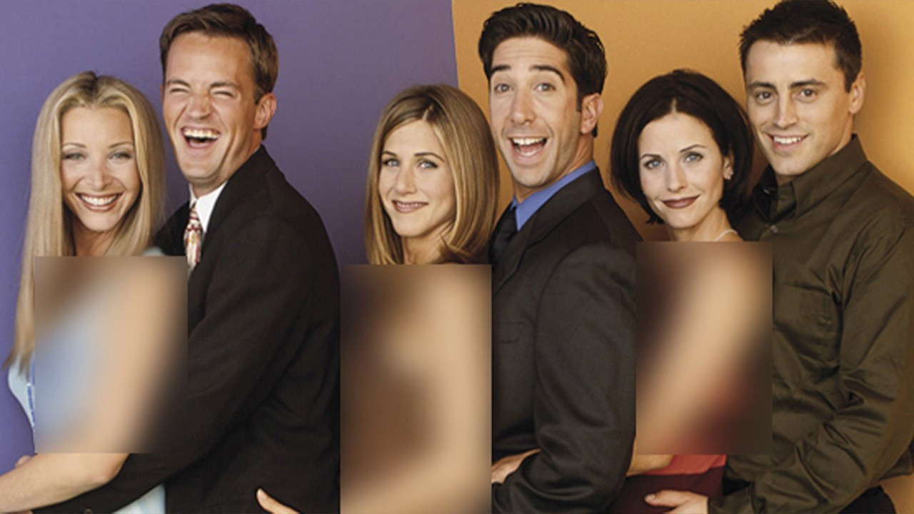 Turkish Islamist daily blurs bare arms in Friends poster
