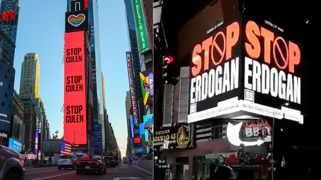 Times Square becomes scene of propaganda war between Turkey, Gülenists